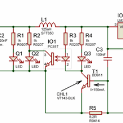 Plug Power Q2 2000 Chevy Impala Engine Diagram 14.4v Charger Circuit Lead-acid Batteries Lm350t - Electronics Projects Circuits