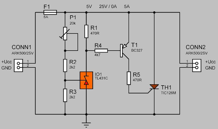short circuit wiring diagram