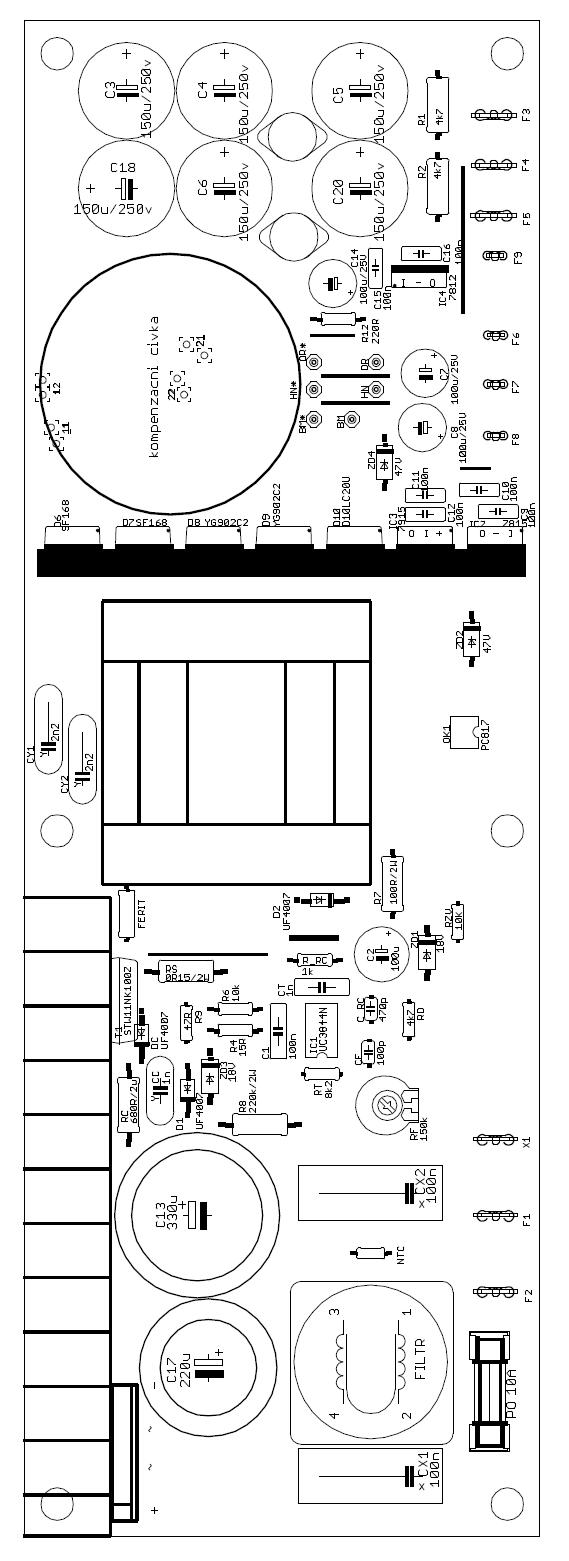 audio amplifier diagram