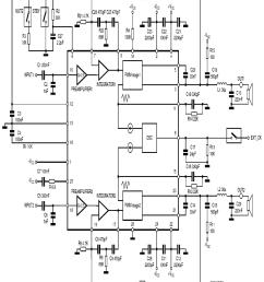 tda7490 circuit schematic 120x120 tda7490 class d amplifier project  [ 834 x 965 Pixel ]