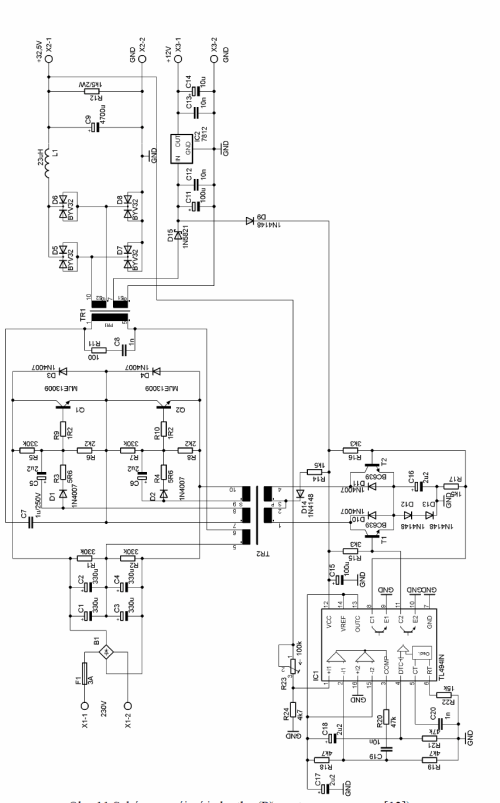 small resolution of amplifier smps tl494 schematic circuit 120x120 tl494 class d amplifier smps 390w 32v