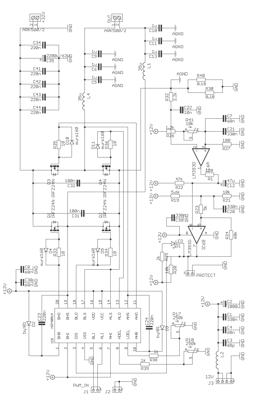 Digital Class D Amplifier Circuit Tas A Pcm A
