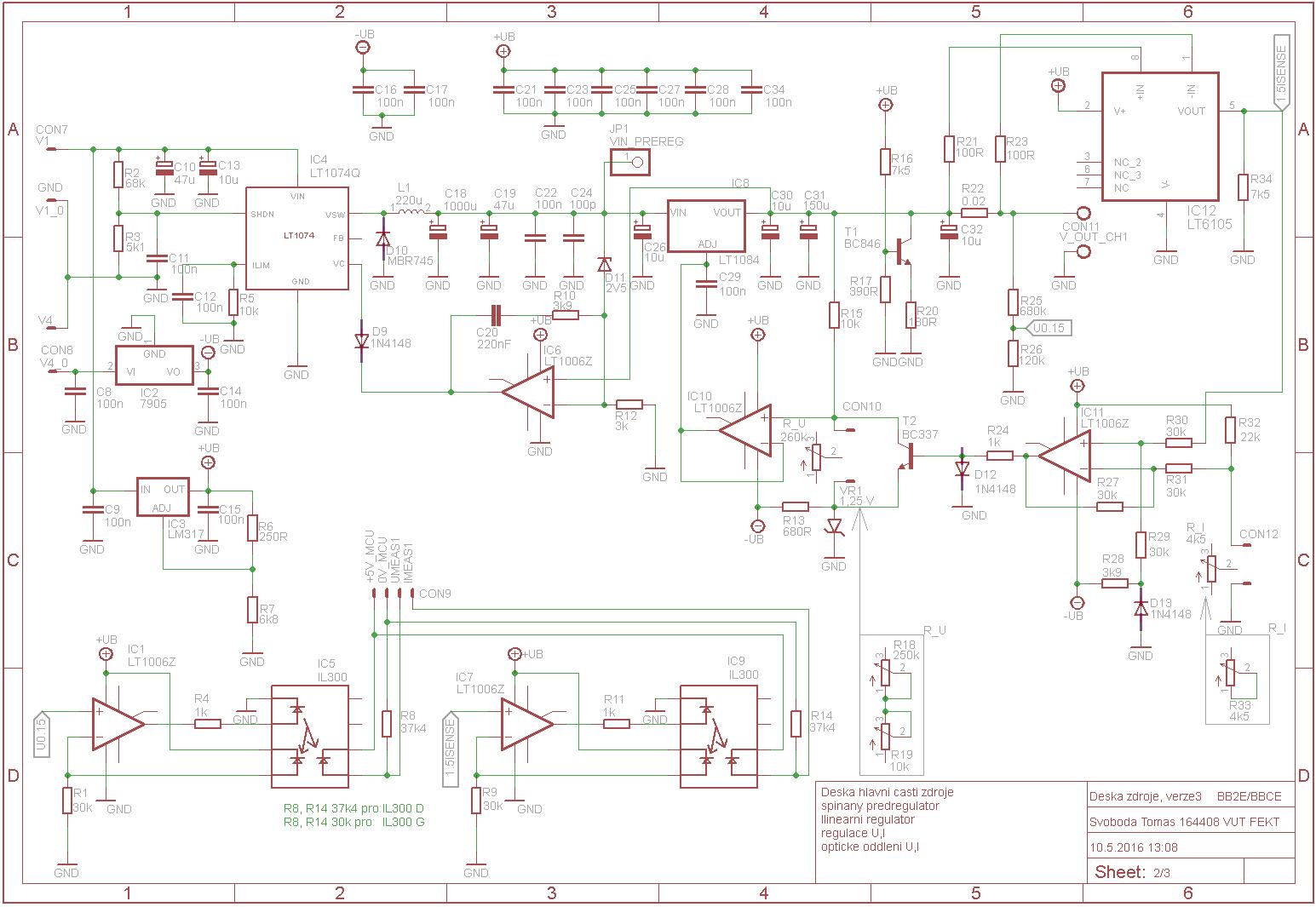 dc regulated power supply circuit diagram 1995 honda civic dx radio wiring 30v 3a adjustable switching laboratory