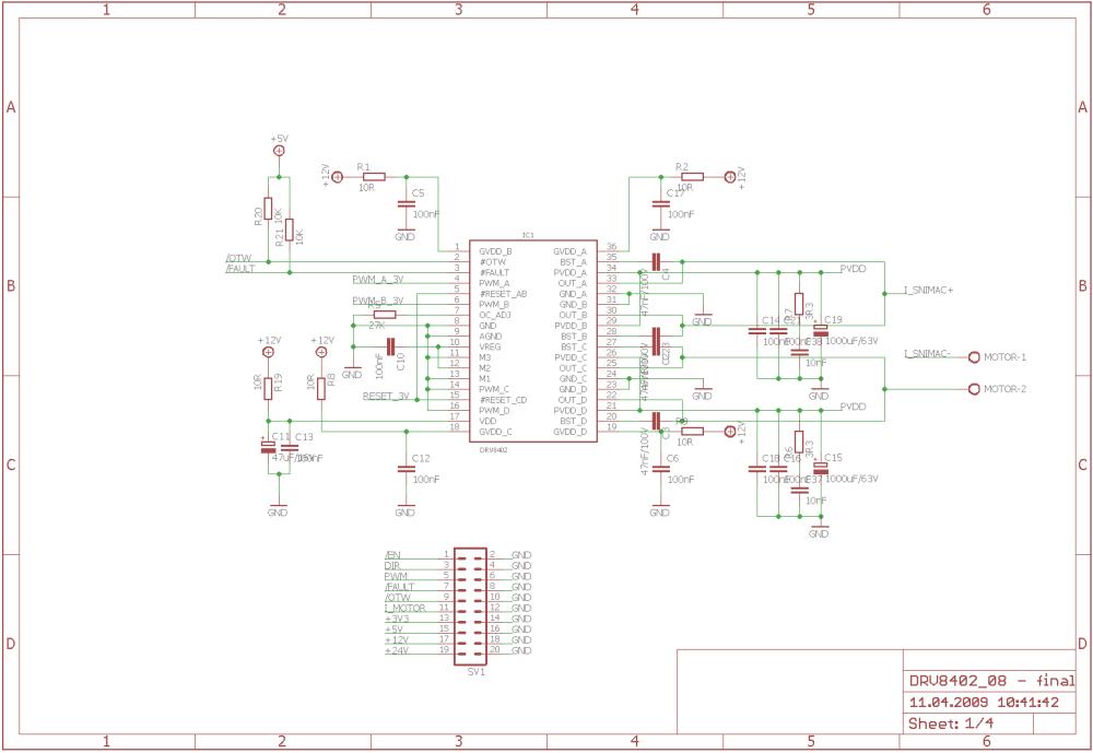 medium resolution of drv8402 schematic dual full bridge pwm motor driver 120x120 dspic30f2010 pwm motor driver circuit drv8402