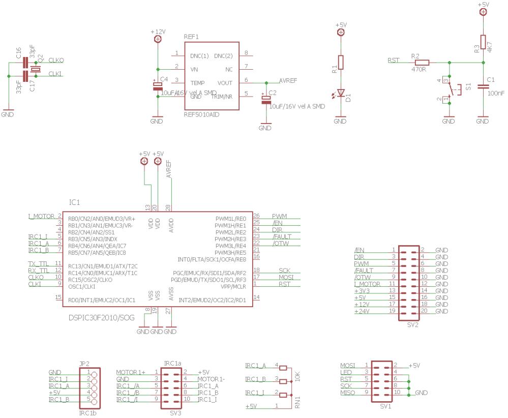 medium resolution of dspic30f2010 motor control circuit schematic 120x120 dspic30f2010 pwm motor driver circuit drv8402