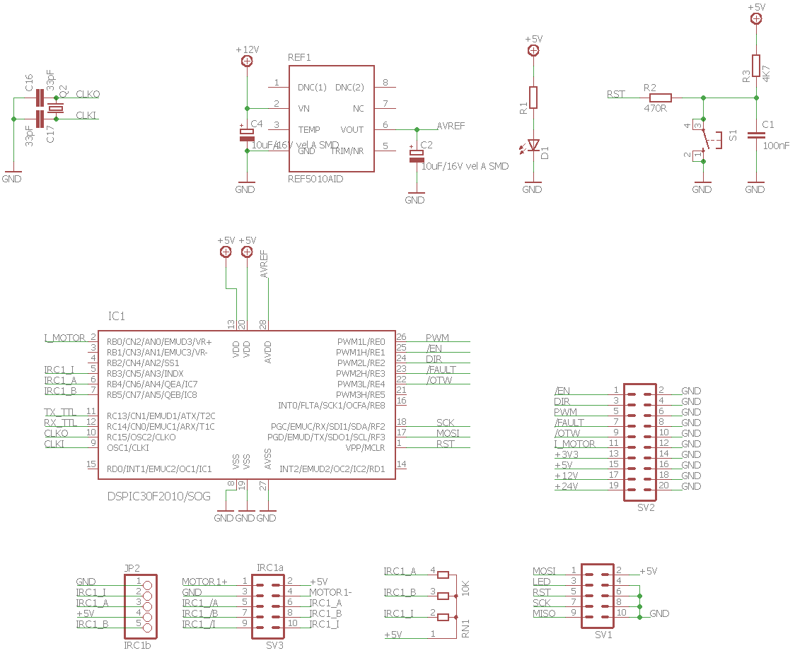hight resolution of dspic30f2010 motor control circuit schematic 120x120 dspic30f2010 pwm motor driver circuit drv8402