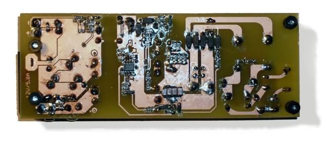 Watt To 12 Watt Smps Led Driver Circuit Electronic Circuit Projects