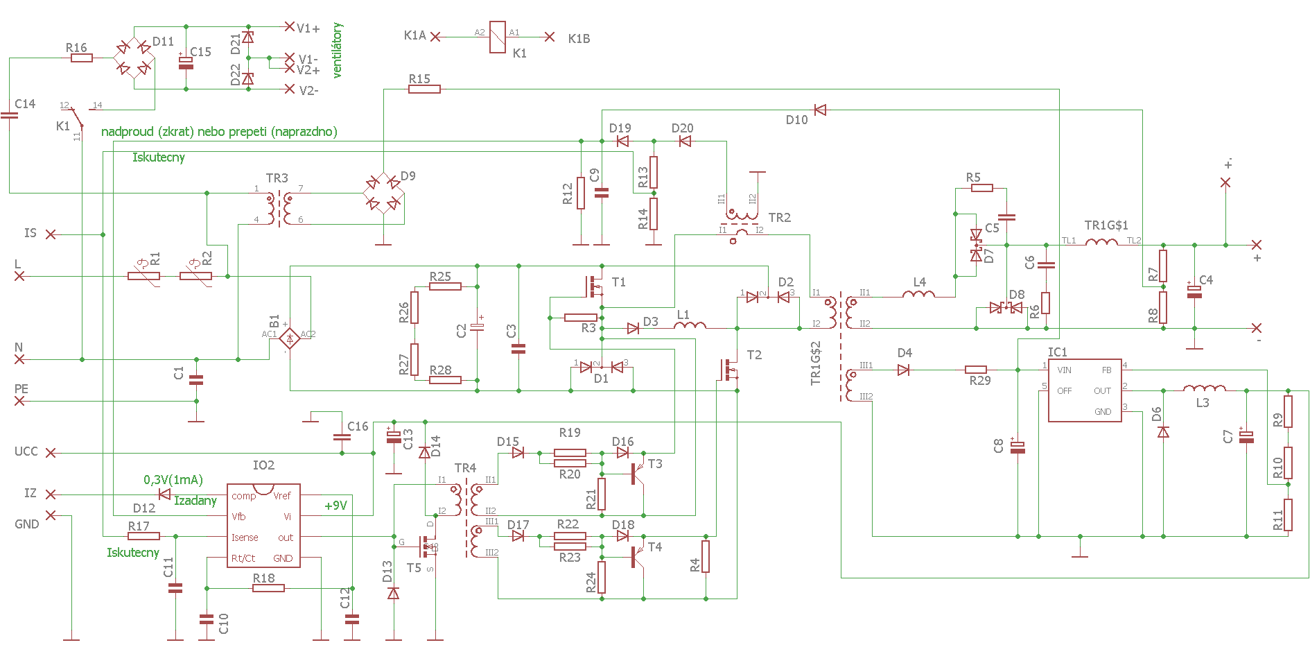 hight resolution of switchmode charger smps schematic