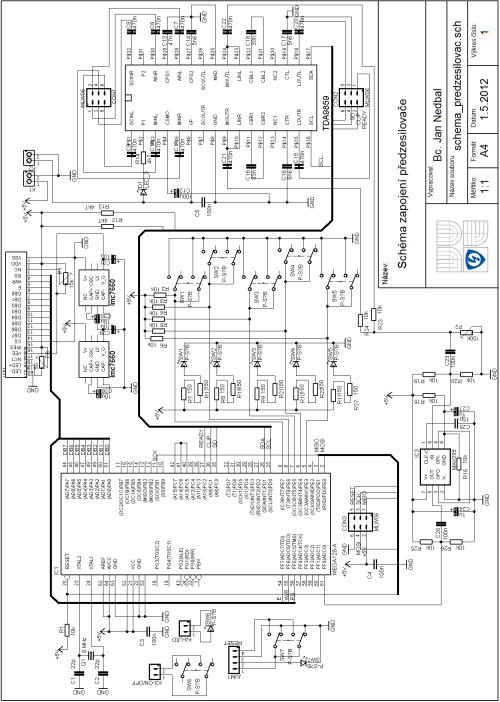 small resolution of  tda9859 circuit schematic 120x120 digital class d amplifier project tas5613 tda9859 atmega128