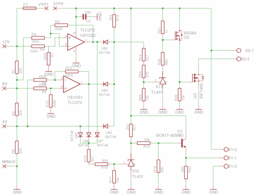 small resolution of li ion 14 4v battery pack charger schematics