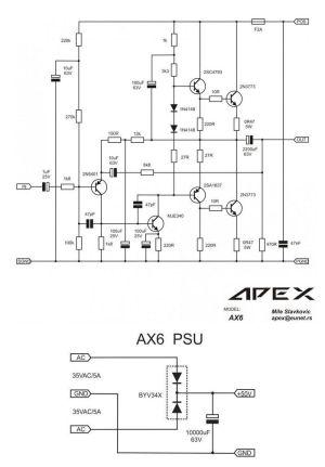 2N3773 2SC5200 Amplifier Circuit 150W  Electronics