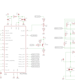 mc3phac motor controller inverter ac motor drives schematic 140x130 three phase motor control circuit mc3phac fsbs10ch60 [ 2544 x 1009 Pixel ]