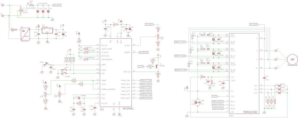 medium resolution of mc3phac motor controller inverter ac motor drives schematic 140x130 three phase motor control circuit mc3phac fsbs10ch60
