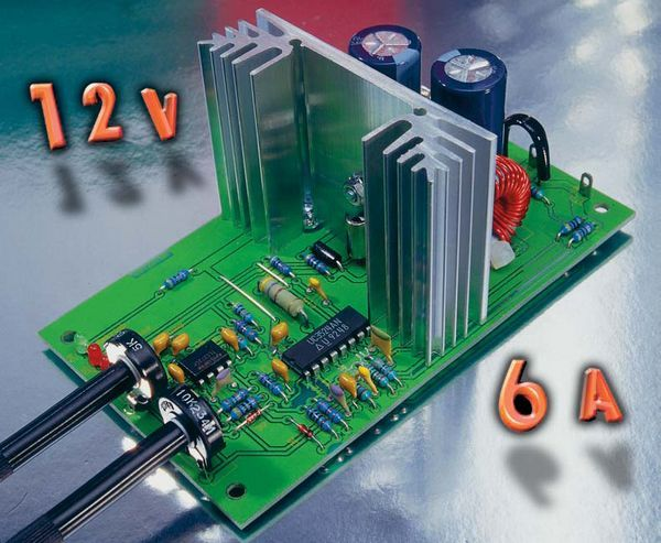 Adjustable Dc Dc Converter Circuit Sg