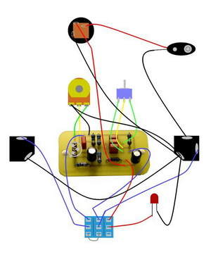 Guitar Effects, Pedal, Bypass Circuits  Electronics Projects Circuits