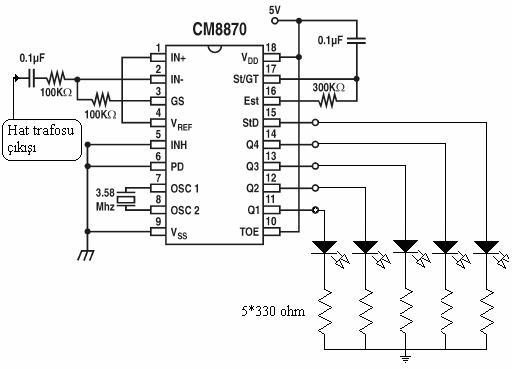 CM8870 DATASHEET PDF