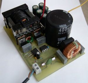 Symmetric Output Audio Amp SMPS Circuit with IR2153 ETD34