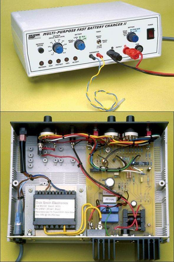 Linear Nimh Nicd Fast Battery Charger Electronic Circuits Diagram