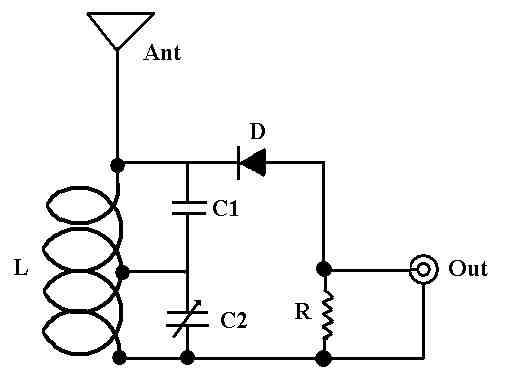 Simple Fm Crystal Radio Schematic, Simple, Free Engine