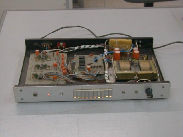 Circuit Schematic Diagram Of Led Audio Level Vu Indicator And Alarm