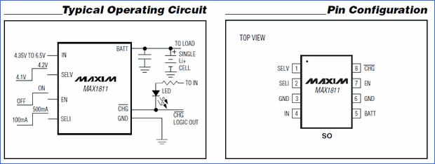 Usb Li Ion Battery Charger Ic. usb li ion charger circuits