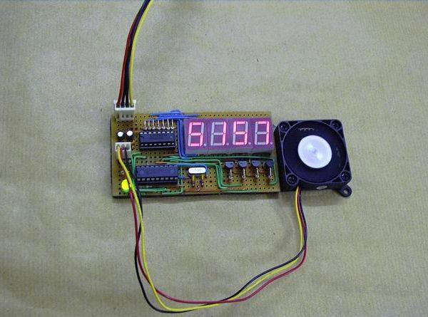 Pic16f676 Microcontroller Based Fan Speed Controller Unit Which Is