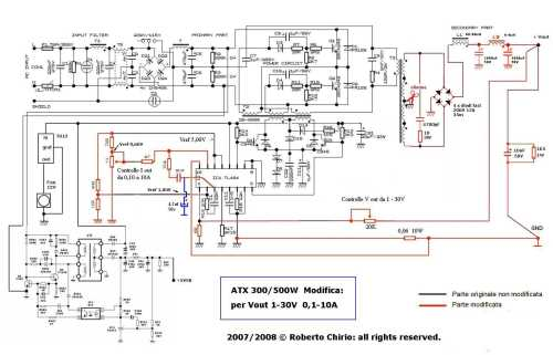 small resolution of modified atx power supply circuit diagram