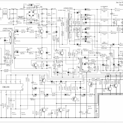 Atx Power Supply Wiring Diagram Beginner Venn 400w Schematic Get Free Image
