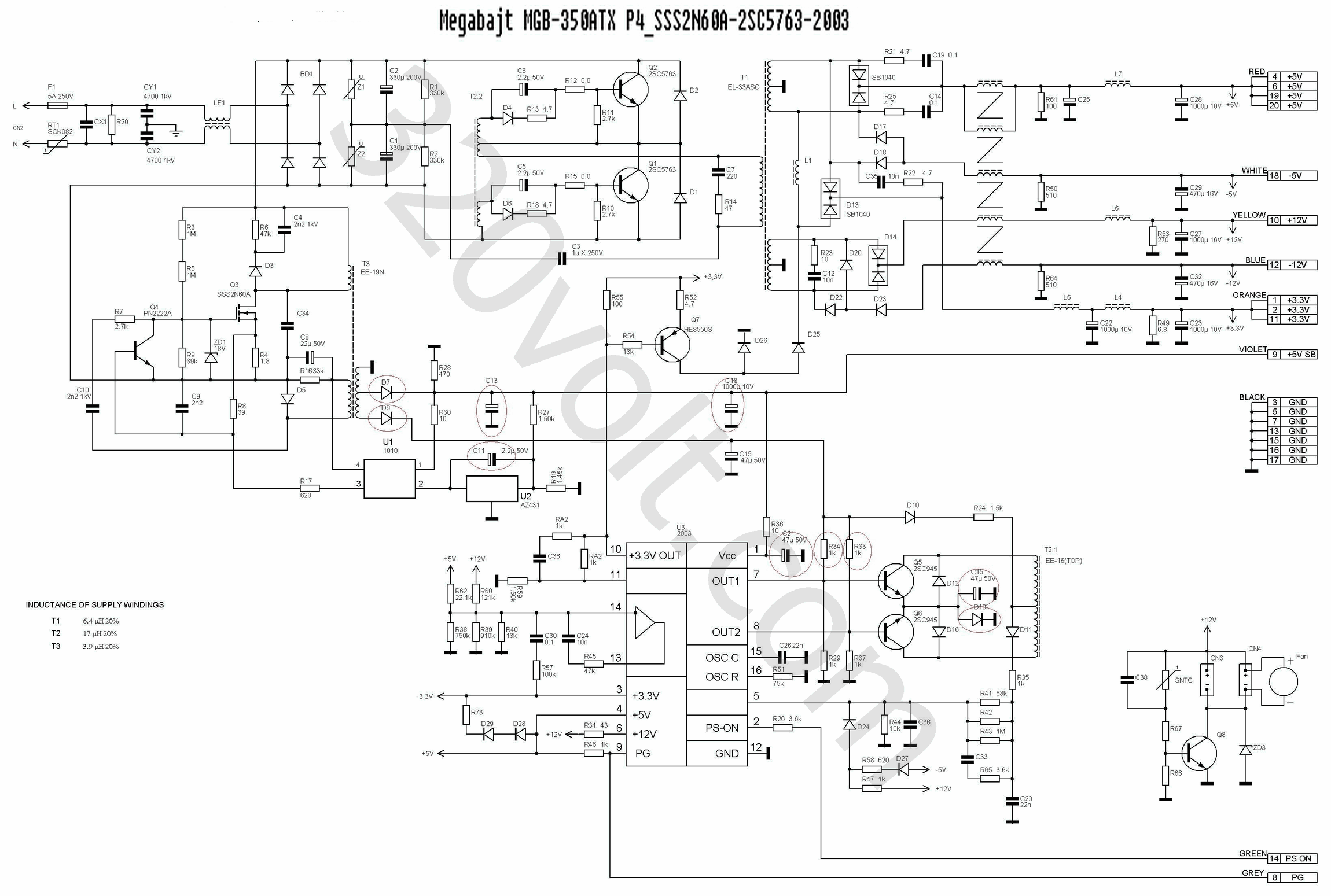 atx smps atx smps circuit atx smps schematic ml48241