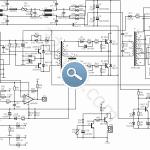 EC 200X ATX Power Supply SMPS ATX TL494 LM393