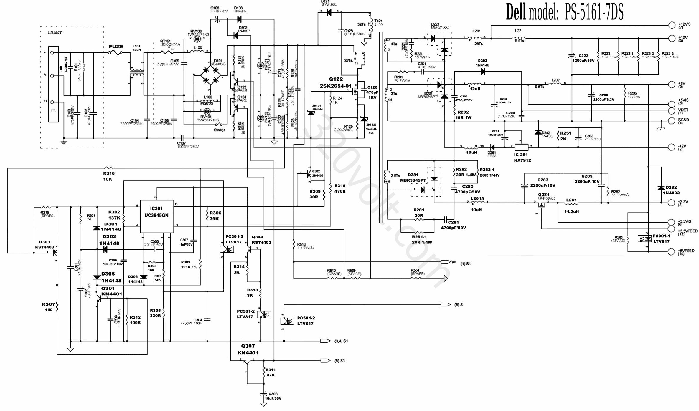 Atx Power Supply Schematic together with S atx en furthermore 2004 Acura Tl Electronic Throttle Control System Diagram further Motherboard Power Supply Circuit Diagram furthermore Simple 12 Volt To 9 Volt Dc Dc Converter. on 200w atx power supply circuit