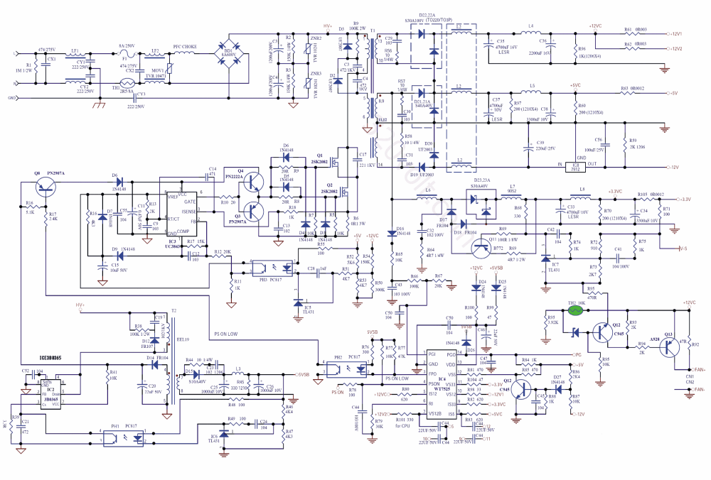 medium resolution of 5v smps circuit smps diagram circuit circuit diagram of smps tl494 smps circuit atx smps circuit