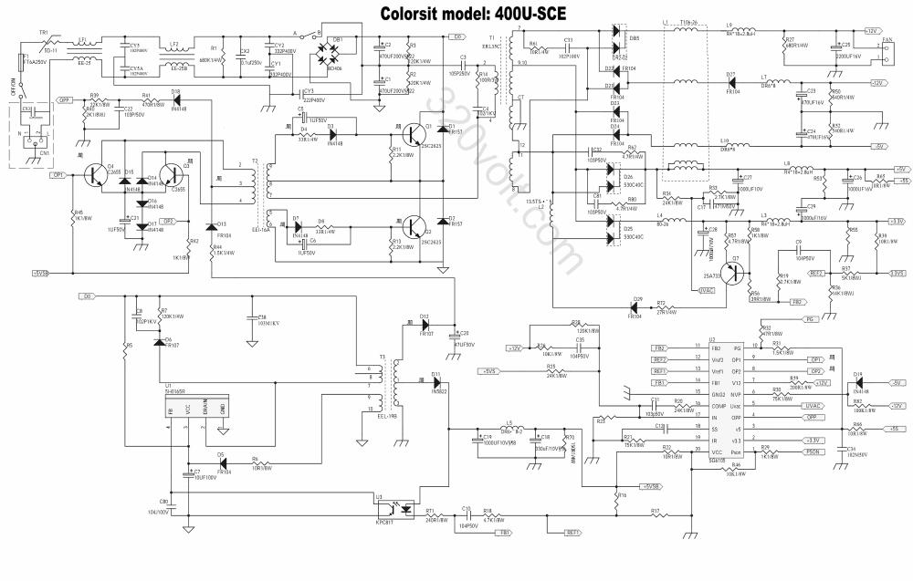 medium resolution of nortonpulsegenerator amplifiercircuit circuit diagram seekic 2 9 isolating atx smps ka5h0165r sg6105 schematic diagram images