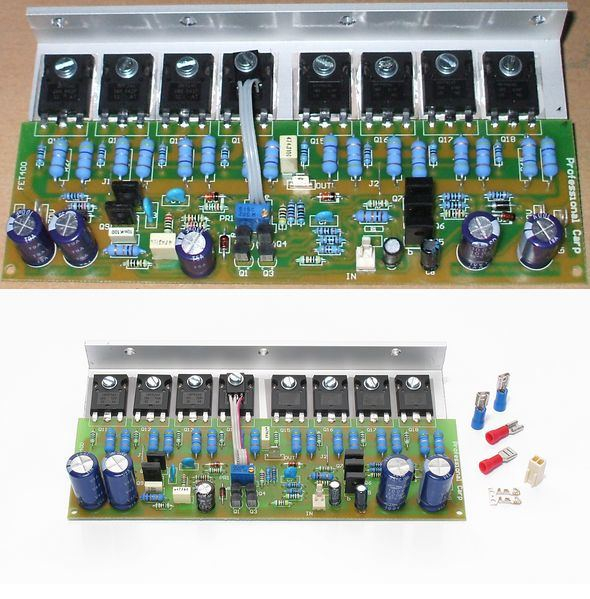 Tda2052 Multi System Audio Power Amplifier Circuit Electronic Project
