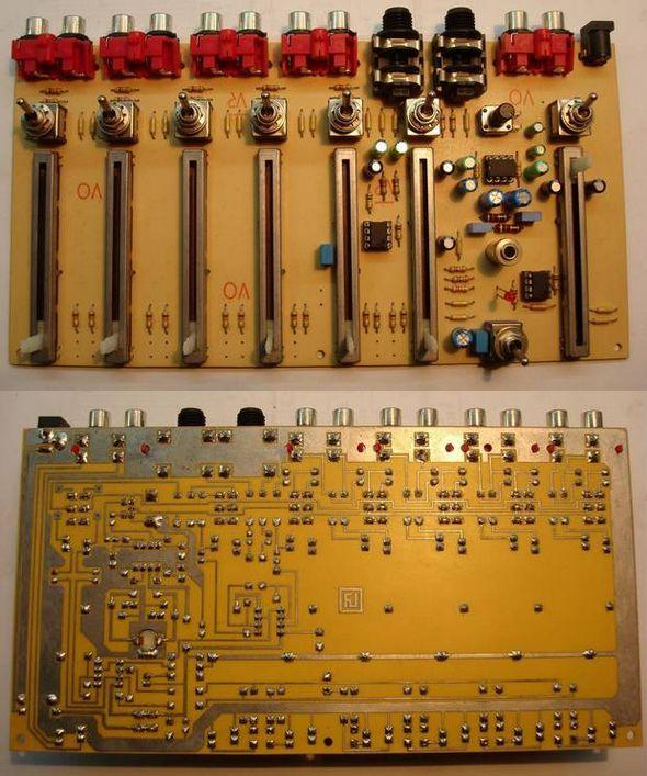 Audio Tone Balance Circuits