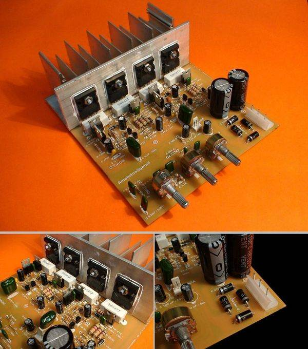 Power Amplifier Class A By Transistor