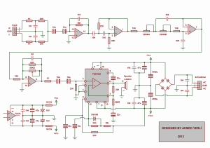 TDA7294 Subwoofer Amplifier Circuit  Electronics Projects