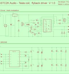audio tesla tl494 ir2110 igbt irfp054n pwm driver tesla coil flyback eth 120x120 pwm vu meter [ 1073 x 953 Pixel ]