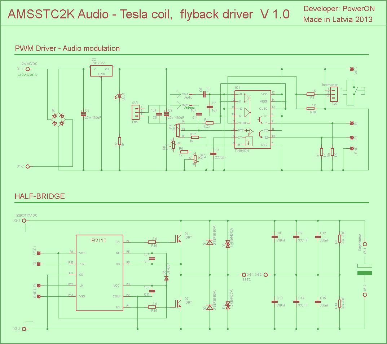 hight resolution of audio tesla tl494 ir2110 igbt irfp054n pwm driver tesla coil flyback eth 120x120 pwm vu meter