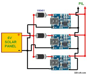 LiPo Liion Battery Charge MCP73831 TP4056 Circuits