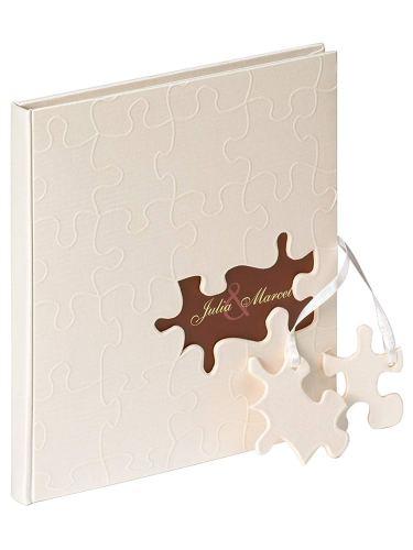 Libro de firmas Puzzle para fotomatón bodas