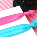Twistbands czyli delikatne gumki do włosów