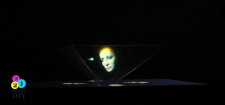 wyświetlacz hologramów