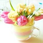 Jak zrobiłam wazon dla więdnących tulipanów