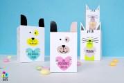 pudełeczka na prezenty, pudełka dla dzieci