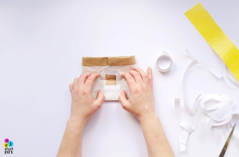 jak zrobić torbę z papieru