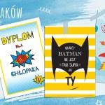 Na dzień chłopaka – dyplom i plakaty dla chłopców