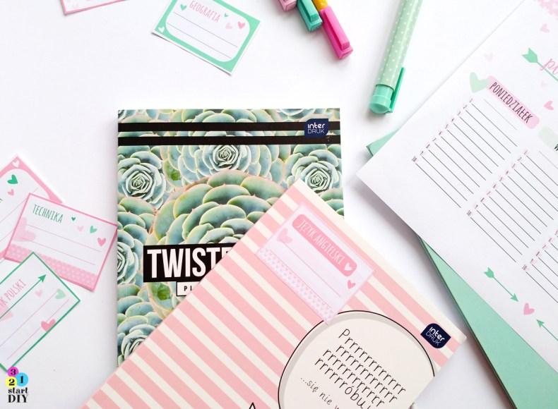 naklejki na zeszyty i książki - grafika do druku
