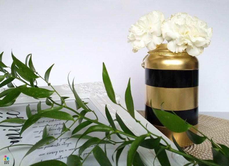co zrobić ze słoika; wazon ze słoika