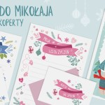 List do św. Mikołaja do druku / 3 wzory+ koperty